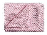 Schardt 15 100 212 Babystrickdecke Sunny, 75 x 100 cm, rosa