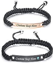 Best engraved friendship bracelet Reviews