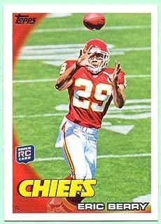 Eric Berry 2010 Topps Rookie #395A - Kansas City Chiefs