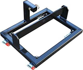Titan Black Suitcase Weight Cart with Receiver to Transport Weights and Ballast Receiver Hitch