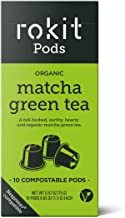 ORGANIC MATCHA Tea INSTANT DRINK (10 Nespresso Compatible Capsules) - No More Scooping, Whisking or Dust - Japanese Matcha...