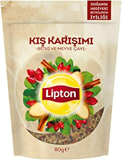 Lipton Kış Karışımı Dökme Bitki Çay 80G