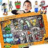 Plantas vs Zombie 2 Juguetes Completo Conjunto para niños Expulsión Anime Muñecas para niños Figura de acción Modelo de Juguete