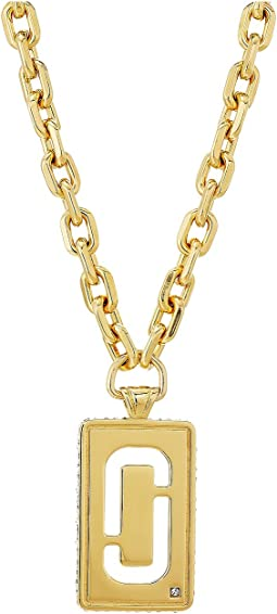 Marc Jacobs - Respect J Marc Statement Pendant Necklace