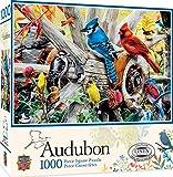 MasterPieces Audubon 1000 Puzzles Collection - Backyard Birds 1000 Piece Jigsaw Puzzle