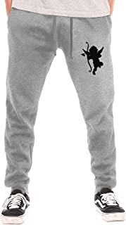 Cupid Men's Cycling Pants Winter Running Windproof Fleece Warm Pants Water Absorption Multi-Function Sports