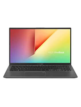 "2020 Asus VivoBook 15 Thin & Light Laptop: 10th Gen Core i7-1065G7, 256GB SSD, 8GB RAM, 15.6"" Full HD Display, Backlit Keyboard, Windows 10"