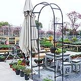 Creative LDF 2.2M Arco Pergolato da Giardino Archi per Matrimoni in Metallo per Cerimonia Arrampicata Piantare Giardino Patio Serra Decorazione per Feste Nuziali Decor