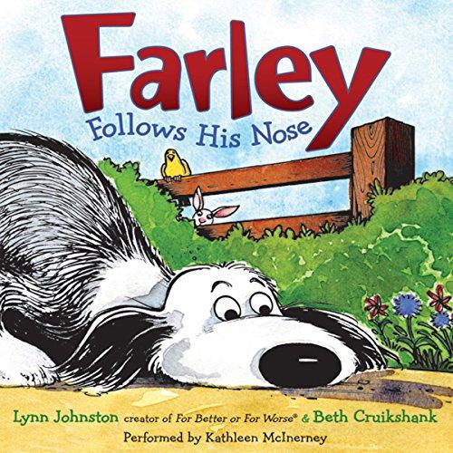 Farley Follows His Nose audiobook cover art