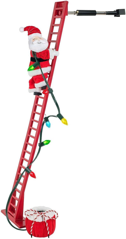 Wondershop Christmas Xmas Decor Decoration Indoor Animated Climbing Santa
