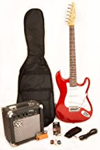 sx electric guitar and amp