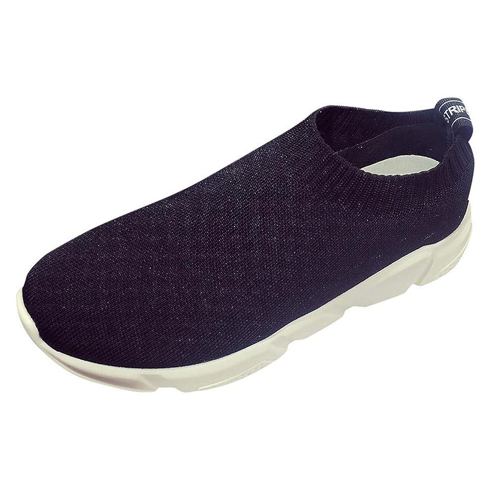 電気技師腐敗した遅いランニングシューズ スニーカー レディース メンズ ジョギングシューズ 運動靴 軽量 防水 通学靴 [春の屋] 女性のアスレチックウォーキングメッシュファブリックファッションスニーカー通気性のランニングシューズ