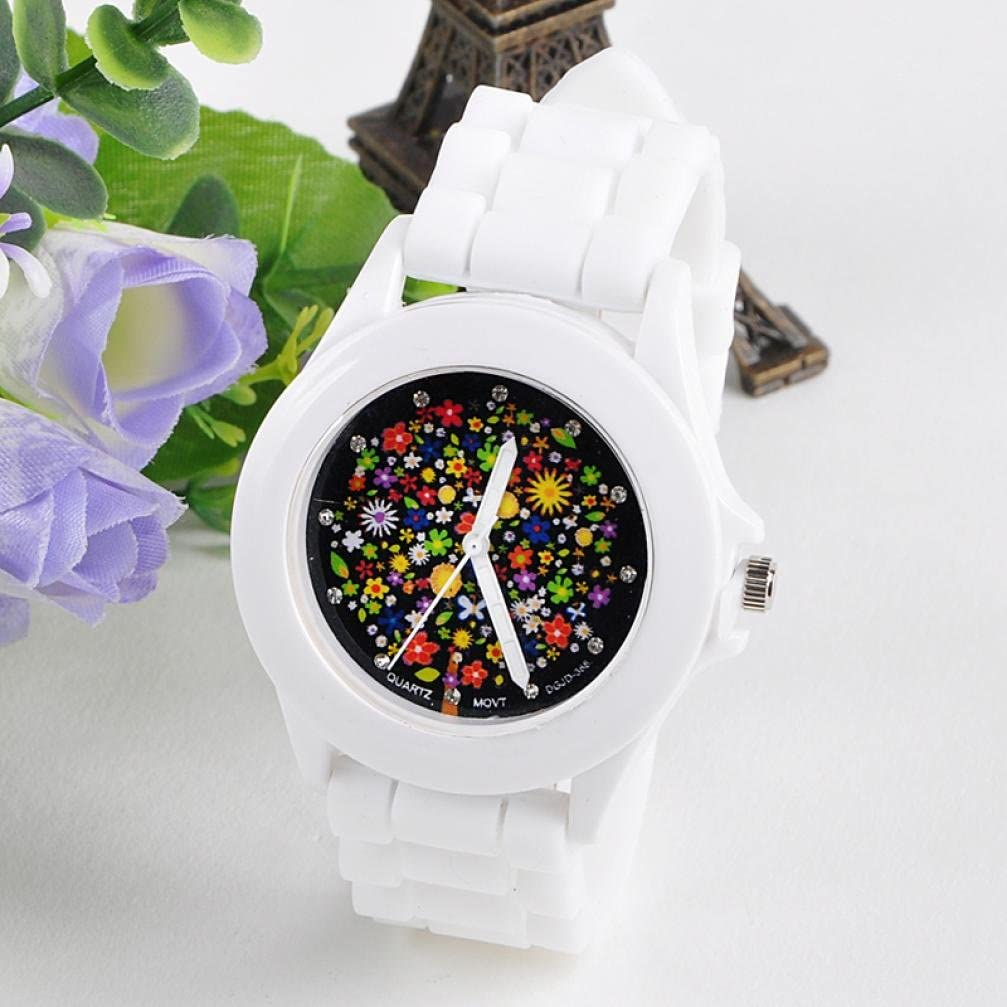 IEason Fashion Limited time for free shipping Silicone Wholesale Rubber Jelly Wo Gel Sports Analog Quartz