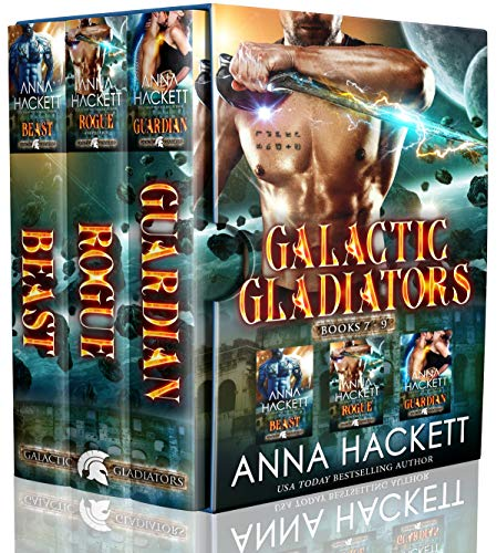 Galactic Gladiators Set Books 7-9 by Anna Hackett