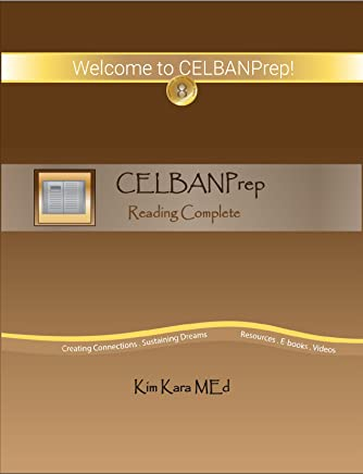 CELBANPrep Reading Complete: Study Guide and Sample Tests (English Edition)