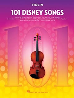 101 Disney Songs: for Violin (VIOLON)