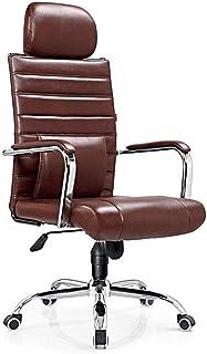 Sillón Las sillas de escritorio, silla de la computadora de oficina ergonómica Silla giratoria Escritorio Silla giratoria Silla de la protuberancia de alta de nuevo presidente de Soporte lumbar Apoyab