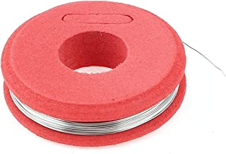 SOURCING MAP sourcingmap® 80 nicromio ronda los 0,25 mm 30AWG 32,8pies Rollo 22,21Ohm/m Cable calefactor
