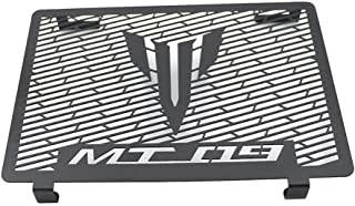 Coolsheep Motorcycle Radiator Guard Grille Protector Cover for Yamaha MT-09 FZ-09 2013-2019(Black)