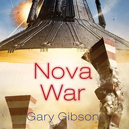 Nova War audiobook cover art