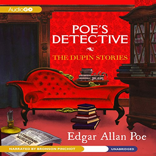 Poe's Detective audiobook cover art