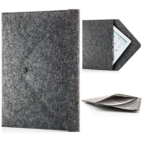 zanasta Tablet Tasche Filz Sleeve Hülle Universal Filztasche für 7-12 Zoll kompatibel mit Samsung Galaxy Tab/Microsoft Surface Pro/Apple iPad Air/Pro + MacBook 12