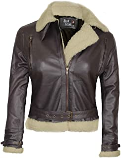 Blingsoul Leather Jackets for Women - Asymmetrical Ladies Motorcycle Leather Jacket