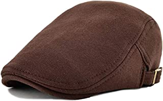 WETOO Men's Flat Cap Gatsby Newsboy Lvy Irish Hats Driving Cabbie Hunting Cap