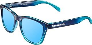 Gradiant Crystal - Gafas de Sol para Hombre y Mujer, Polarizadas, Azul Hielo