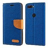 ZTE Nubia Z18 Case, Oxford Leather Wallet Case with Soft
