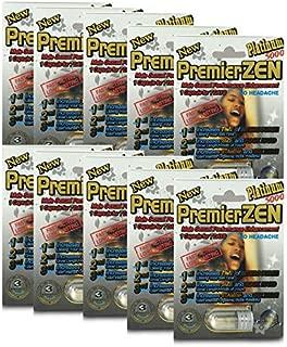 [Best Seller] PremierZen Platinum 5000 Male Enhancement Pills (20 Pills) Natural & Effective