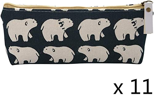 11x Universal Pencil Case Style A
