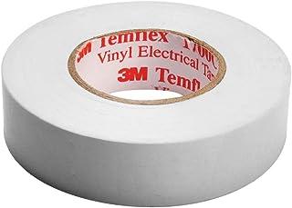 3M Temflex 1500 vinyl elektrische isolatietape, 15 mm x 10 m, 0,15 mm, wit