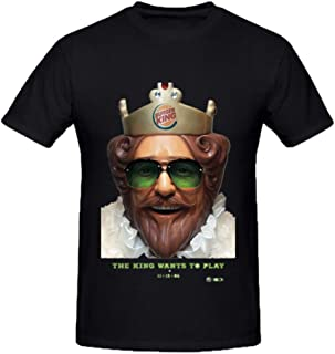 Burger King O-Neck Cotton Fashion T Shirt for Mens