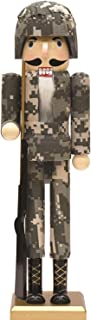 """NORTHLIGHT F85992 15"""" Army Soldier in Fatigues Decorat"""