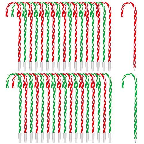 36 Christmas Candy Cane Ballpoint Pens