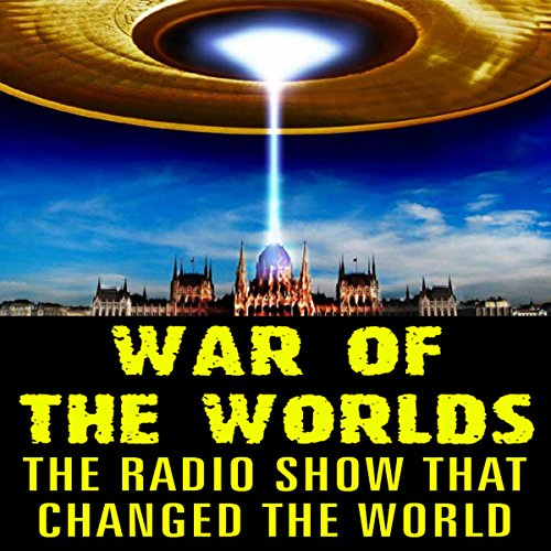 War of the Worlds audiobook cover art