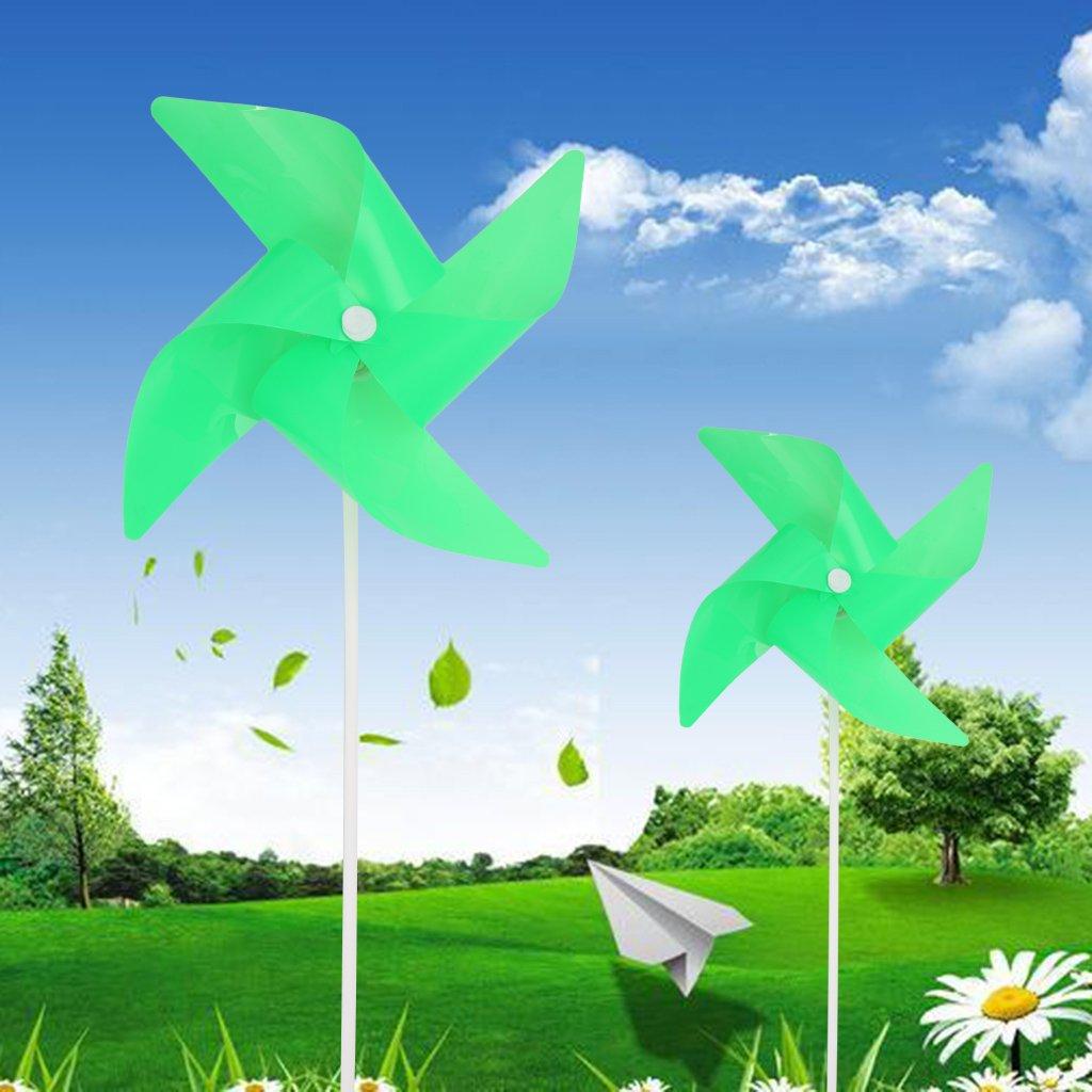Molinillo de viento brillante para jardín, decoración de jardín, juguetes para niños, regalo para exteriores: Amazon.es: Hogar