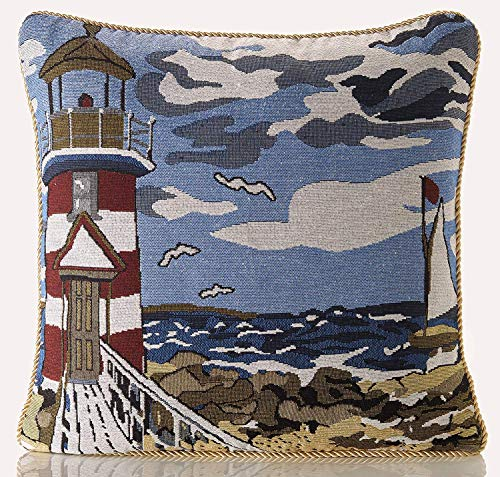 Alan Symonds Seascape Tapestry Cushion Cover 18' x 18'