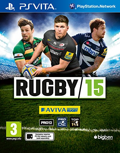 PSVITA Rugby 15 PREOWNED