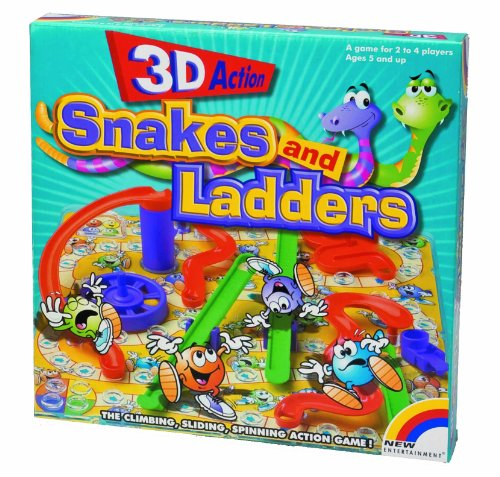 A.B.Gee 3D Snakes and Ladders
