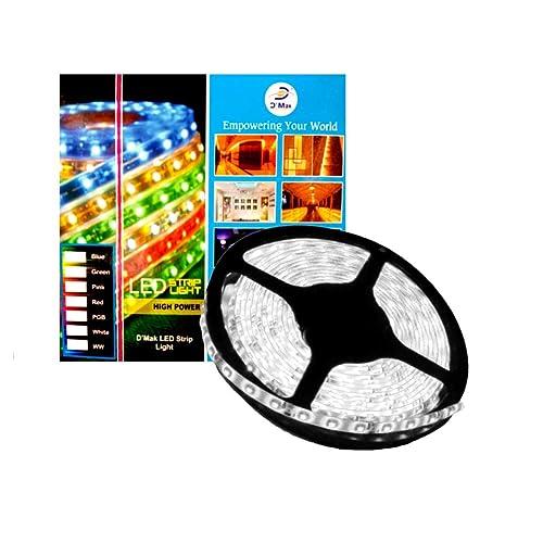D'Mak Led Strip Cove Light Rope Light Ceiling Light White 5 metre Driver Included | led strip light | | pop strip light |