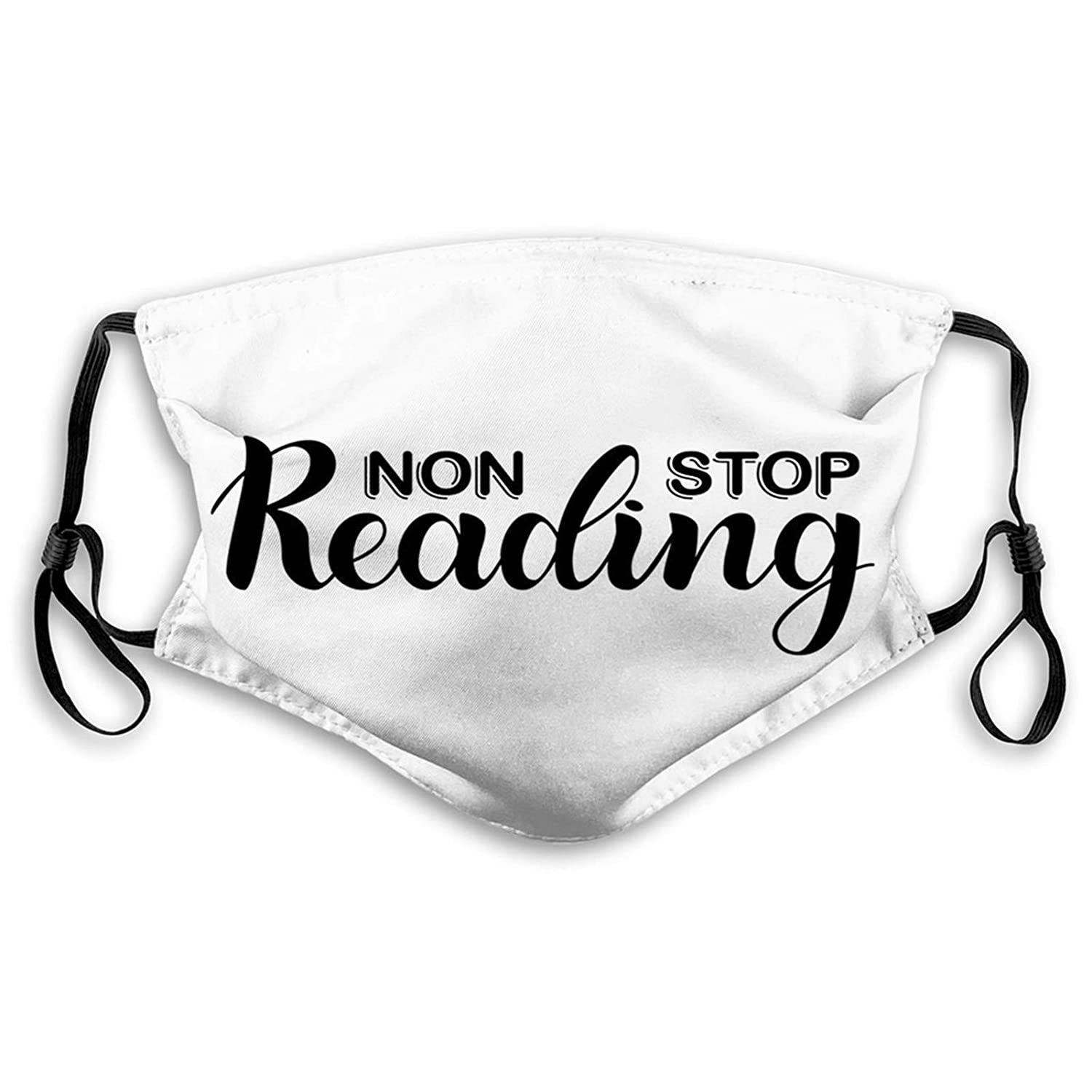 Comfortable Funny Mask Book Non Stop with 1 year warranty Bargain sale Phrase Hand Reading Pa