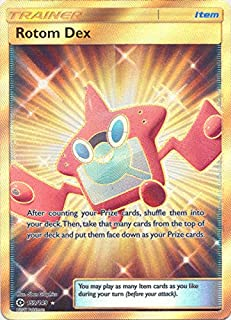 Rotom Dex - 159/147 - Secret Rare - Pokemon Sun & Moon