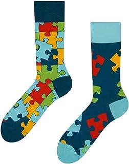 Dedoles, Puzzle Good Mood - Calcetines para adultos UK3-5/EU35-38/US4-6