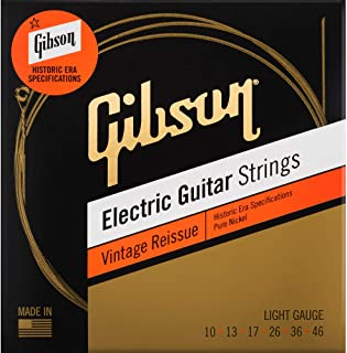 Vintage Reissue Electric Guitar Strings (Light)