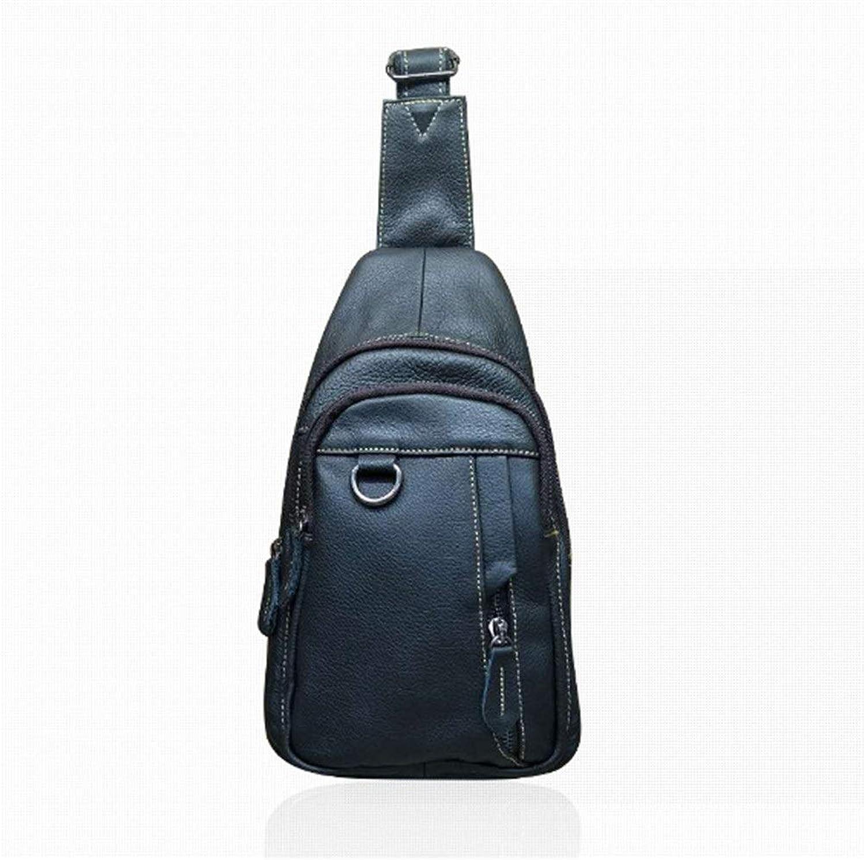 Sling Rucksack brusttasche herren Mnner importiert hochwertige Leder Sling Umhngetasche, Umhngetasche Umhngetasche, Erwachsene Multifunktionsrucksack, Rucksack Tasche Brust Rucksack Mode