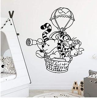 Américain Winnie l'ourson stickers muraux décoration stickers muraux pour salon chambre cuisine salle à manger porte et fe...