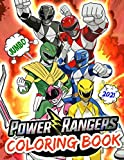 Power Rangers Coloring Book: Power Rangers Coloring Book: Perfect Edition For Kids Ages 4-12