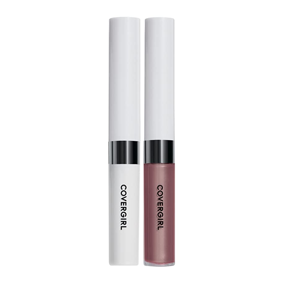 頑丈ファウルキウイCOVERGIRL Outlast All-Day Lip Color - Twilight Coffee 760 (並行輸入品)